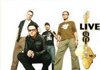 U2 Live 8 Londres