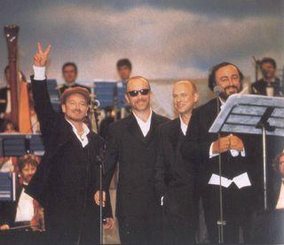 U2 y Pavarotti