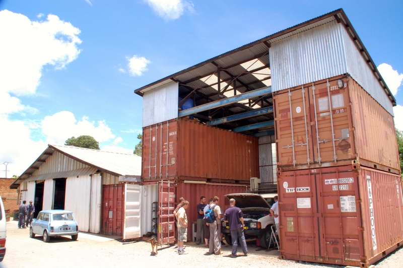 Shipping Container Garages Shanghai Metal Corporation
