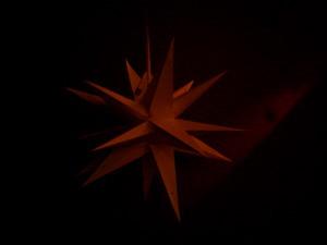 ik zie een ster