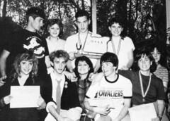 1985 CHS Speech team