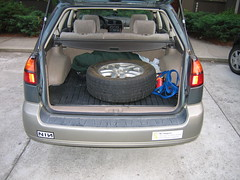 Flat Tire in Back