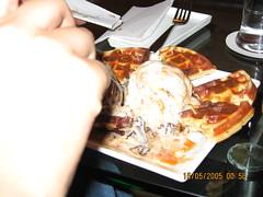waffle desert