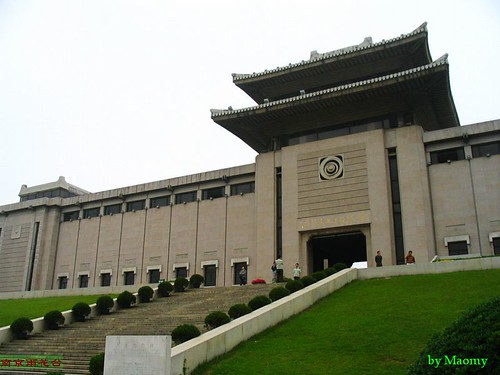 南京雨花台纪念馆大门