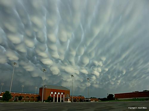 stadium clouds