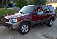 New car to celebrate Linda's new job