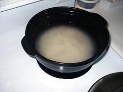 Pot rice preparation 1