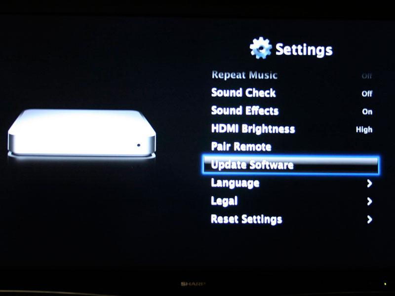 Apple releases Apple TV  Take 2  software update Apple TV 2 0