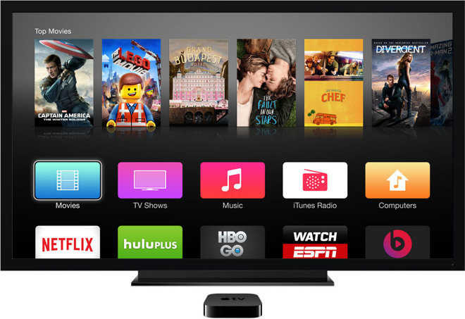Apple pushes 7 2 1 software update to third generation Apple TV Apple on Thursday issued a surprise software update for the  third generation Apple TV  closing several security vulnerabilities in the  media set top