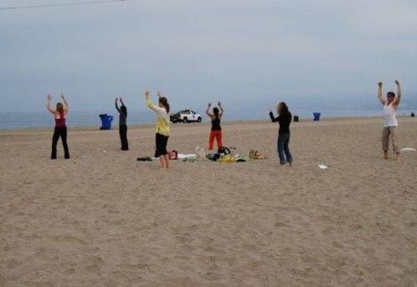 Dynamic Meditation on the Beach -- Santa Monica — Osho Los Angeles