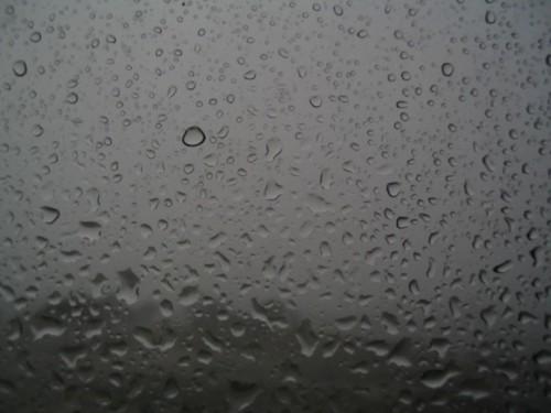 Water on my window