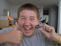 Jake with Memory Card