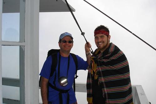 Raz and Dad atop Mt. Pilchuk
