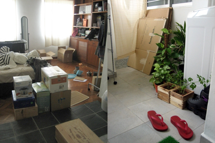moving - day 1