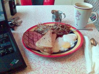Cosmo's Breakfast