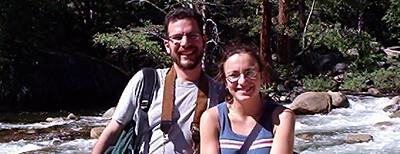 Ryan and Veronica on top of Vernal Falls