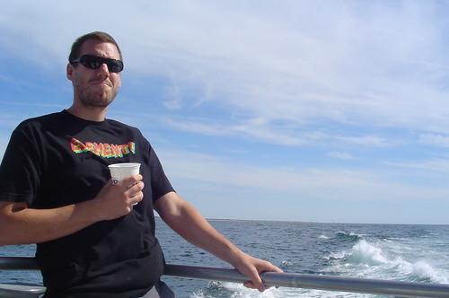 katsumi on the boat!