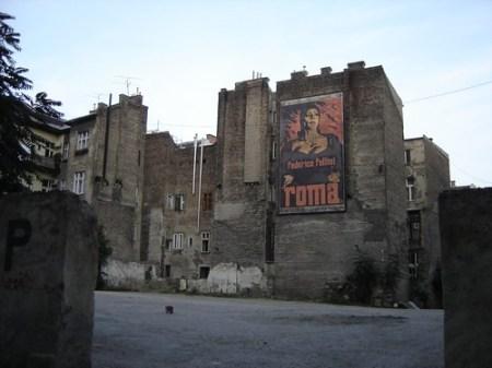 Cartel de cine Roma
