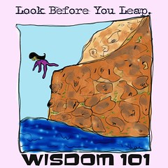Wisdom 101: Look Before You Leap.