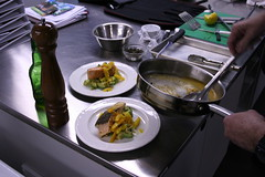 he cooks - lesson one