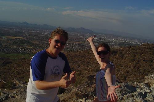 me n' B over Phoenix!!