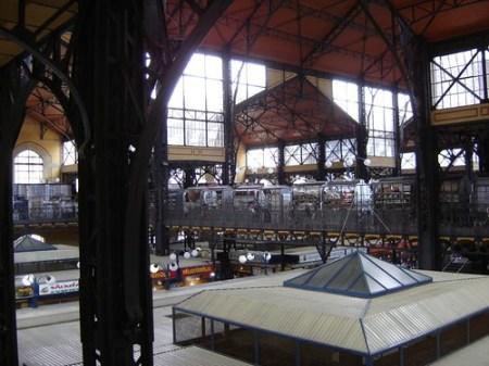 Interior del mercado