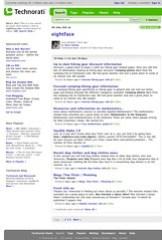 Technorati Search - eightface.com