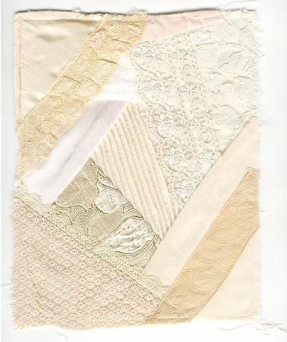 Cream quilt block 001