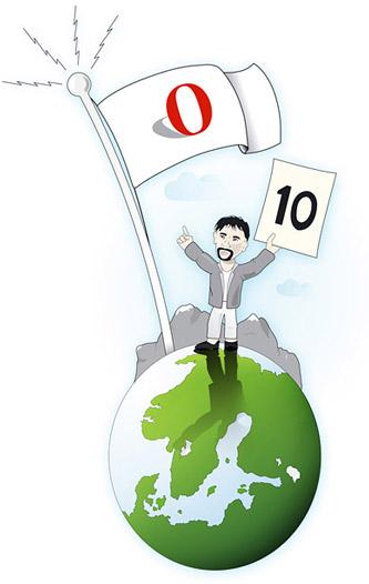 Opera's 10th anniversary