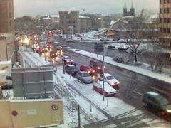 Der Schnee am Montag in Berlin
