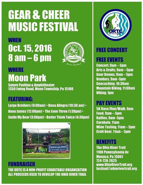 Gear Amp Cheer Music Festival Agenda ORTC Outdoor