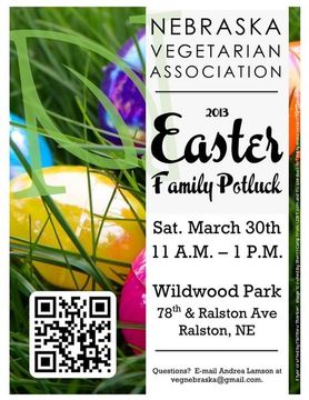NVA 2013 Easter Family Potluck Flyer