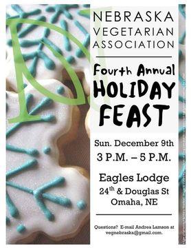 NVA Fourth Annual Holiday Feast Flyer