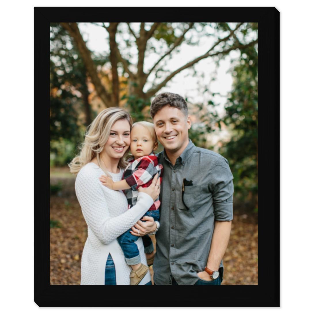 16x20 photo print in 16x20 frame
