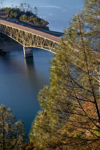Bridge at Lake Sonoma