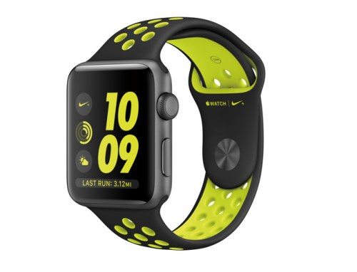 The Apple Watch Nike+.