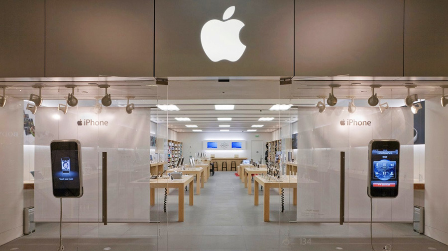 Aapl reiterated outperform with a $165 price target at oppenheimer. Apple closing Green Hills, Nashville & Alderwood Mall