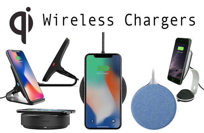 Apple iPhone wireless chargers