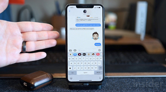 Image result for ios 13 messages