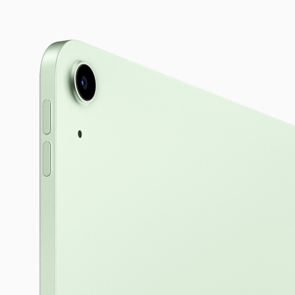 The rear camera on the iPad Air has been upgraded to a 12-megapixel sensor