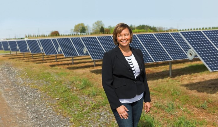 Apple's VP of Environment, Policy and Social Initiatives, Lisa Jackson