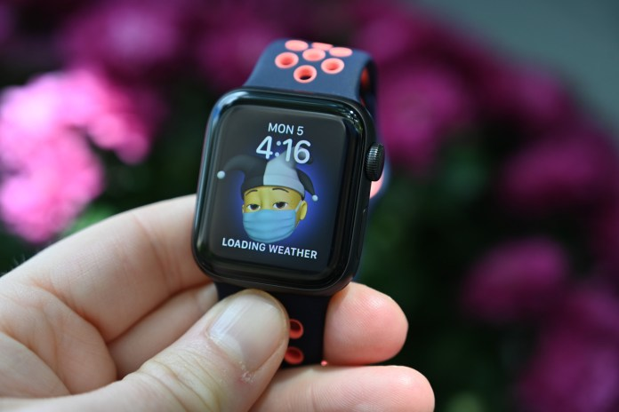 Memoji can be created on the apple watch