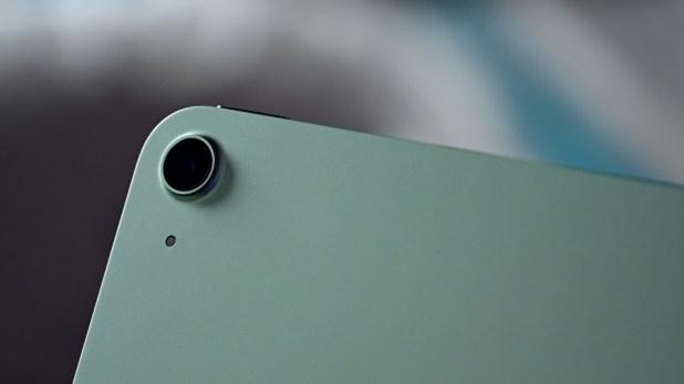 New camera on ipad air