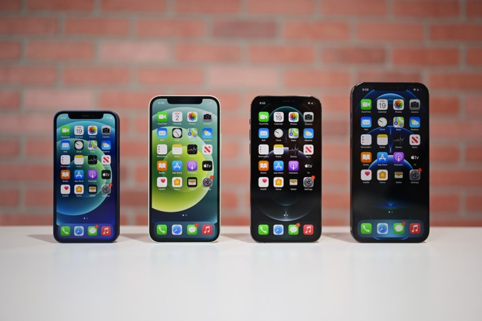 The entire iPhone 12 lineup