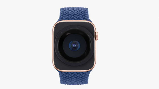 Future Apple Watches may contain cameras that are hidden until needed