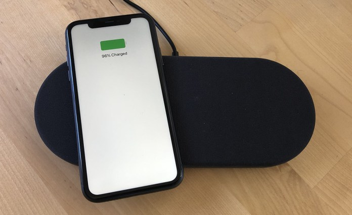 With 7.5W of wireless charging, the Monno charged an iPhone 11 in about three hours.