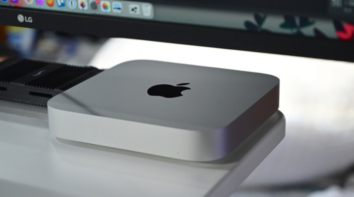You can easily store a bootable external Thunderbolt 3 drive on top of an M1 Mac mini.