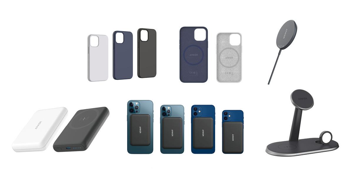 akcesoria do iPhone 12 przygotowane przez firmę Anker