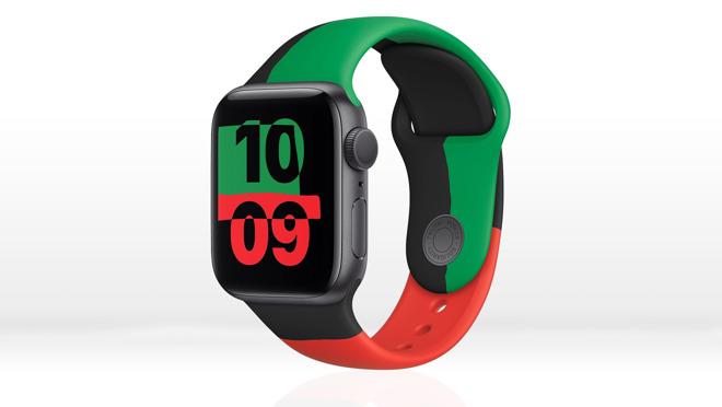 The Black Unity Apple Watch