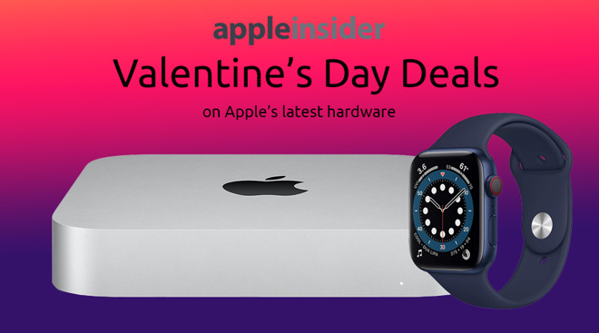 Valentine's Day Apple deals on Mac mini M1 and Apple Watch Series 6